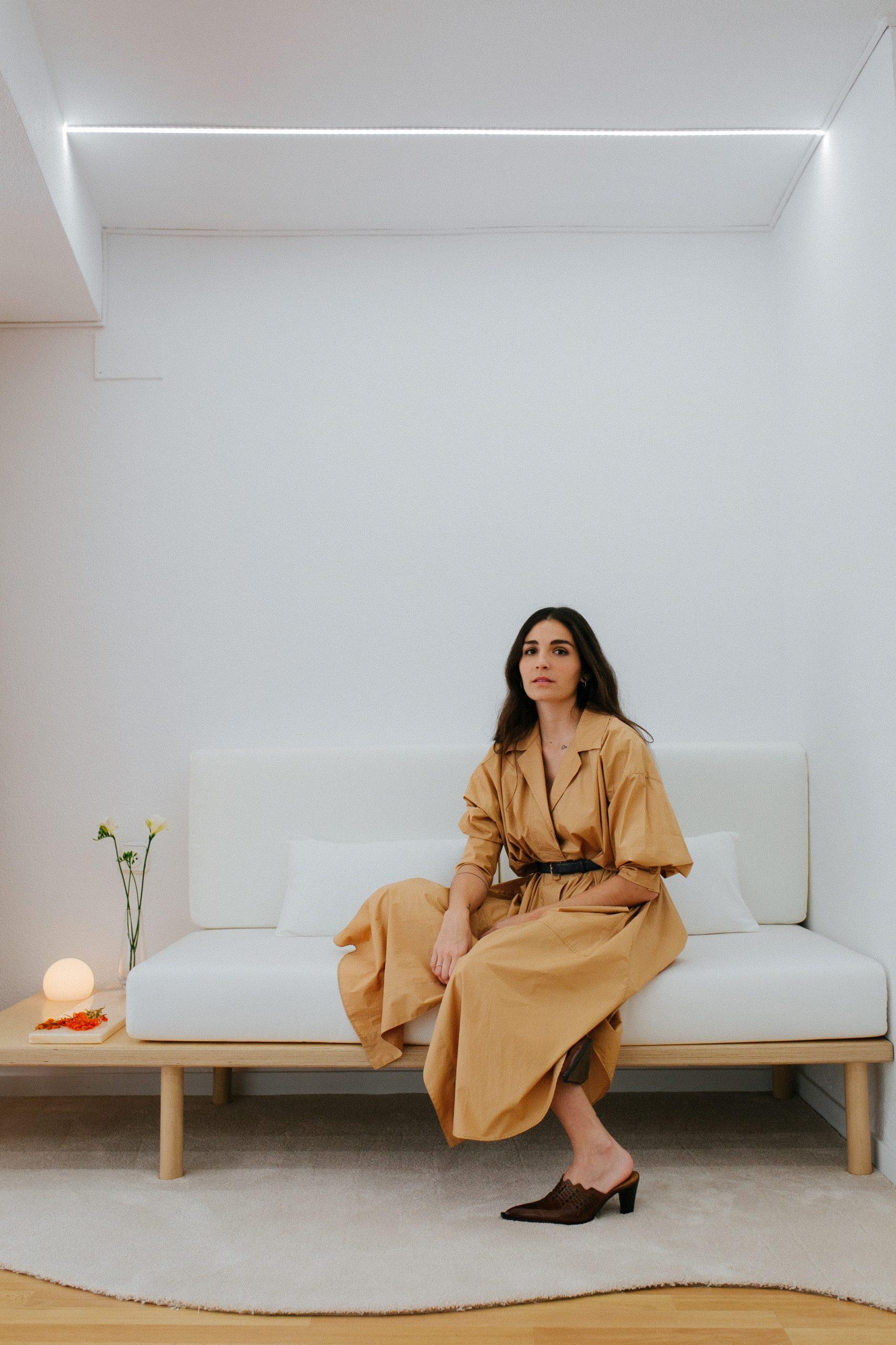 Inés Lacasa diseñadora novias